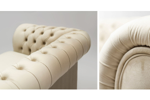 Beige retro sofas – which models would work in a living room in classic style?