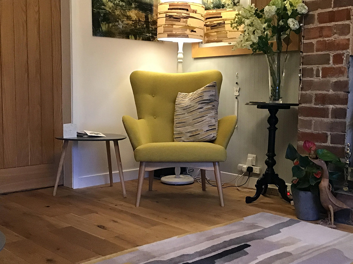 Yellow Savano Armchair from Anita
