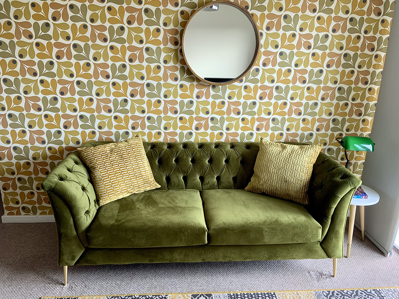 Green Chesterfield Modern sofa from Colin