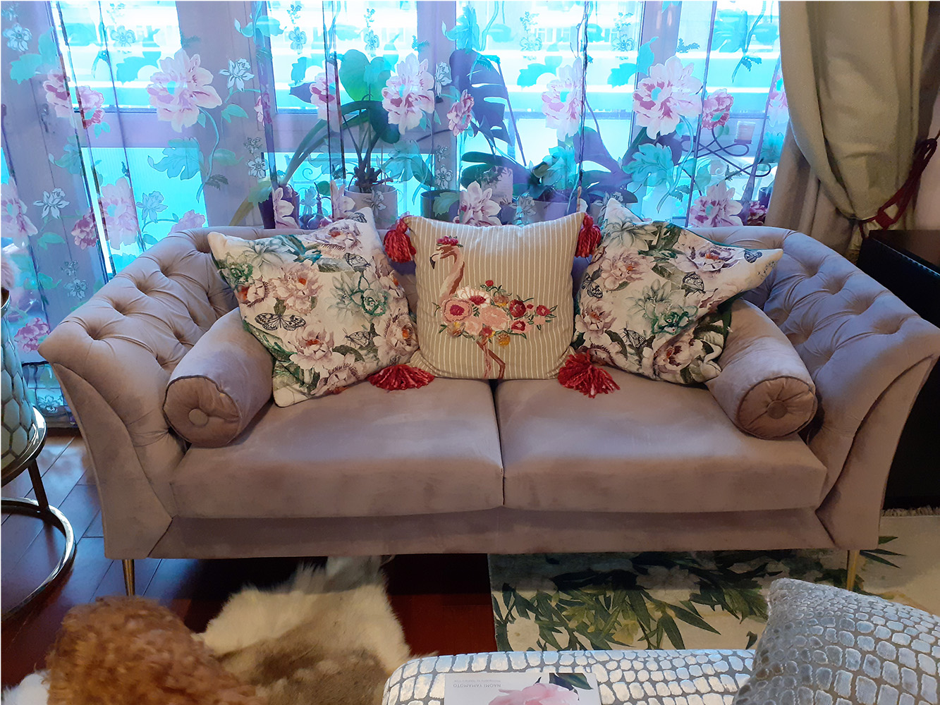 Chesterfield Modern Sofa from Natalia